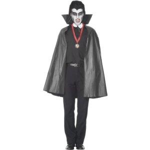 PVC Vampyrcape, svart