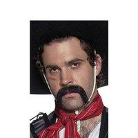 Svart mexikansk mustasch