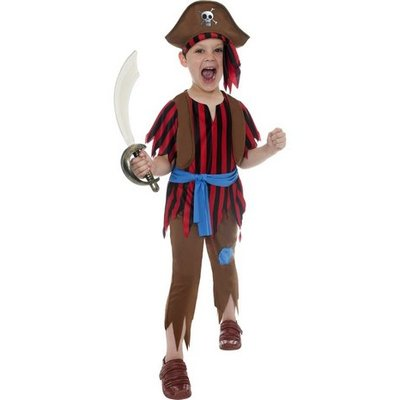 Piratbarn - maskeraddräkt
