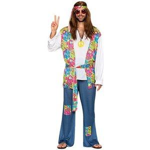 Hippie maskeraddräkt