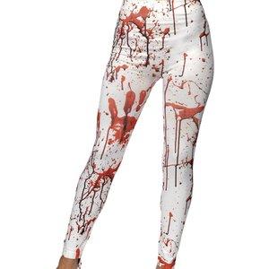 Leggings med blodsplatt