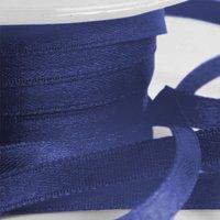 Mörkblå band - 6mm - 25 m