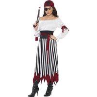 Pirat Lady maskeraddräkt