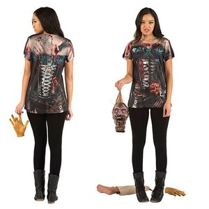 Zombiekorsett t-shirt