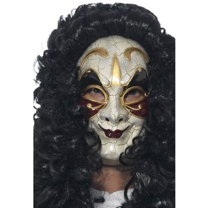Venetiansk maskerad rånare mask