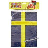 Svensk flagg-girlang - 6 m