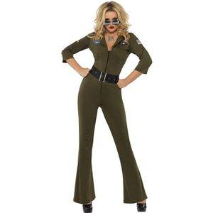 Top Gun flygare maskeraddräkt
