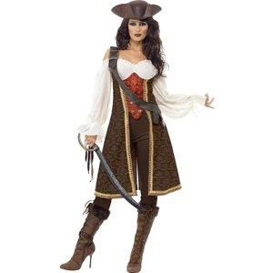 Seven seas pirate lady - maskeraddräkt