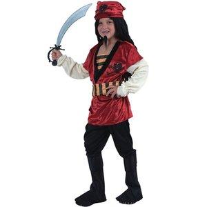 Pirat röd maskeraddräkt