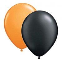 Ballongkombo - Svarta & Orange