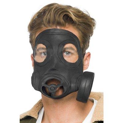 Gasmask, svart