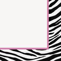 Servetter - Zebra 16 st