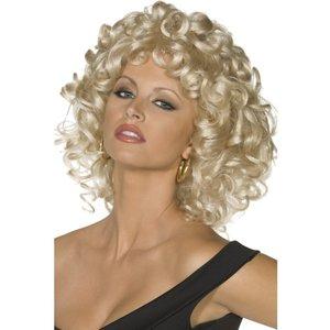Sandy slutscenen peruk, blond