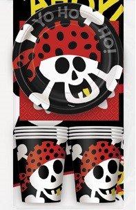 Dukningskit - Piratfest 8 st