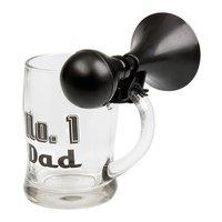 Ölglas med tuta - No.1 Dad