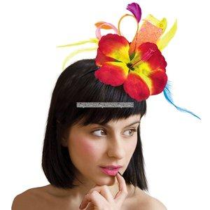 Hårband hibiskus blomma