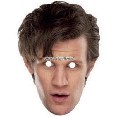 Den 11:e Doktorn från Doctor Who som maskeradmask