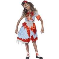 Zombie tjejen från landet maskeraddräkt