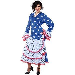Flamenca klänning maskeraddräkt