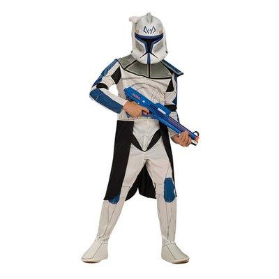 Clone Trooper kapten maskeraddräkt för barn