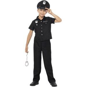 New York polis maskeraddräkt - Svart