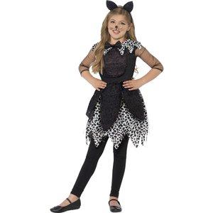 Deluxe Midnight katt barn maskeraddräkt