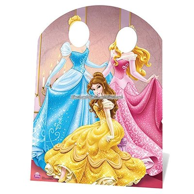 Disney prinsessor fotoförgrund - 127cm