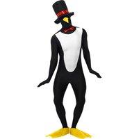 Pingvin Second Skin-dräkt, svart