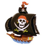 Folieballong - Piratskepp Shape