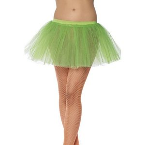 Balettkjol underkjol neongrön