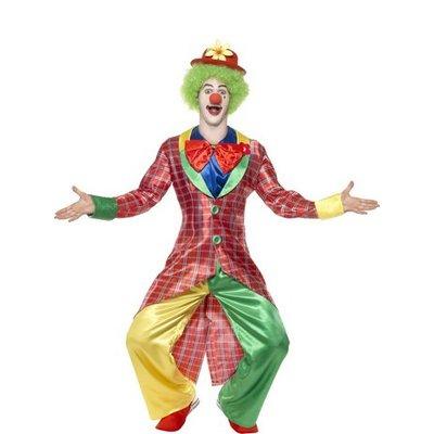 La Circus deluxe clown maskeraddräkt