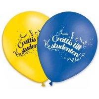 Latexballonger - Grattis till Studenten!