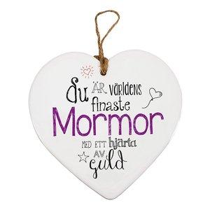 Hjärttavla - Mormor