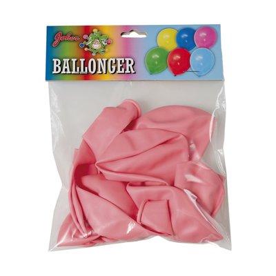 Rosa ballonger 10-pack