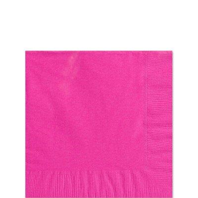 Rosa pappersservetter