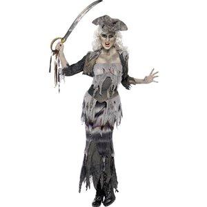 Ghoulina spökskeppspirat maskeraddräkt
