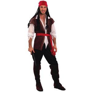 Pirat maskeraddräkt