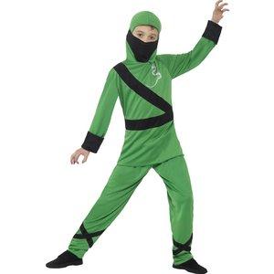 Ninja maskeraddräkt Grön