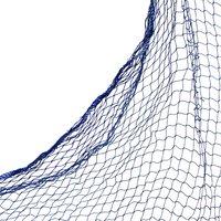 Blått fisknät