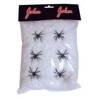 Spindelväv med 6 spindlar 120 g.