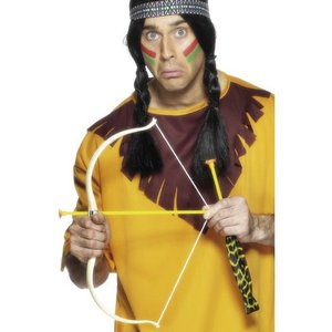 Indian-båge och pilar