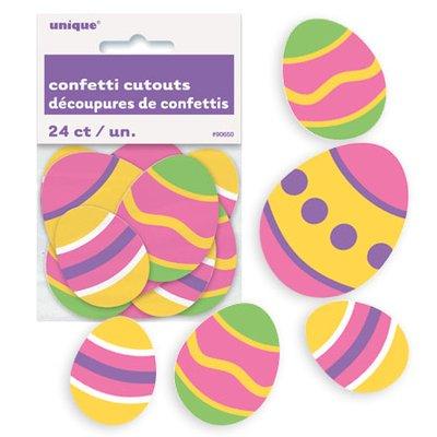 Påskägg konfetti - 24 st