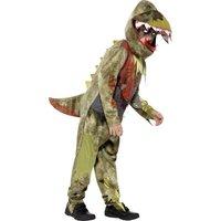 Deluxe Deathly dinosarie maskeraddräkt