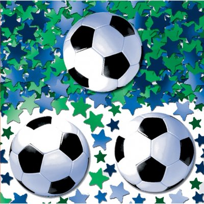 Bordskonfetti fotbollar - 14 g