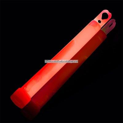 Röd ljusstav