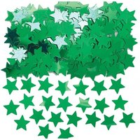 Stardust konfetti till bord/inbjudningar - grön - 14 g