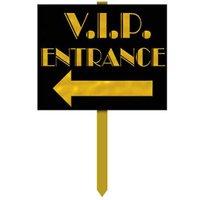 VIP Ingång - skylt