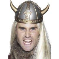 Vikingahjälm - små horn