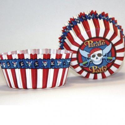Piratfest muffinsformar - 50 st