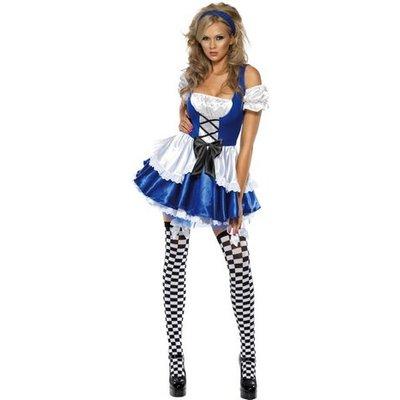 Het Alice maskeraddräkt